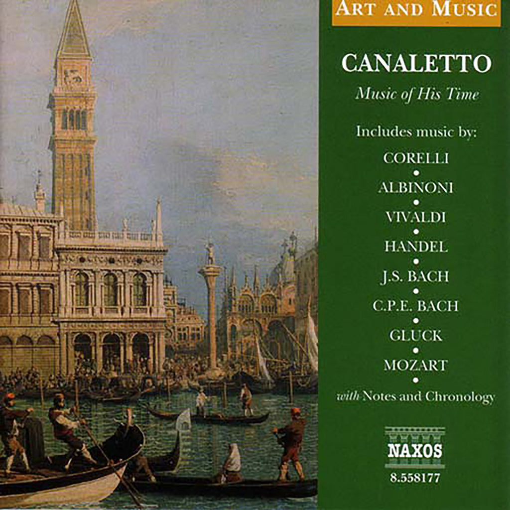 Audio CD - Caneletto: Music of His Time