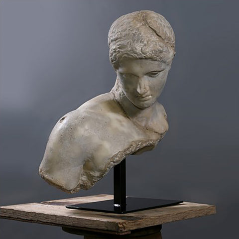 Discophorus Bust Sculpture