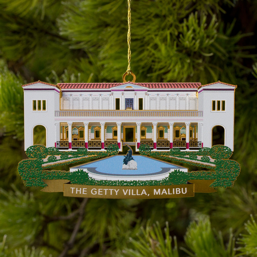 Metal Ornament - The Getty Villa