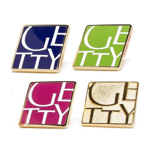 Getty Wordmark Collector Pin
