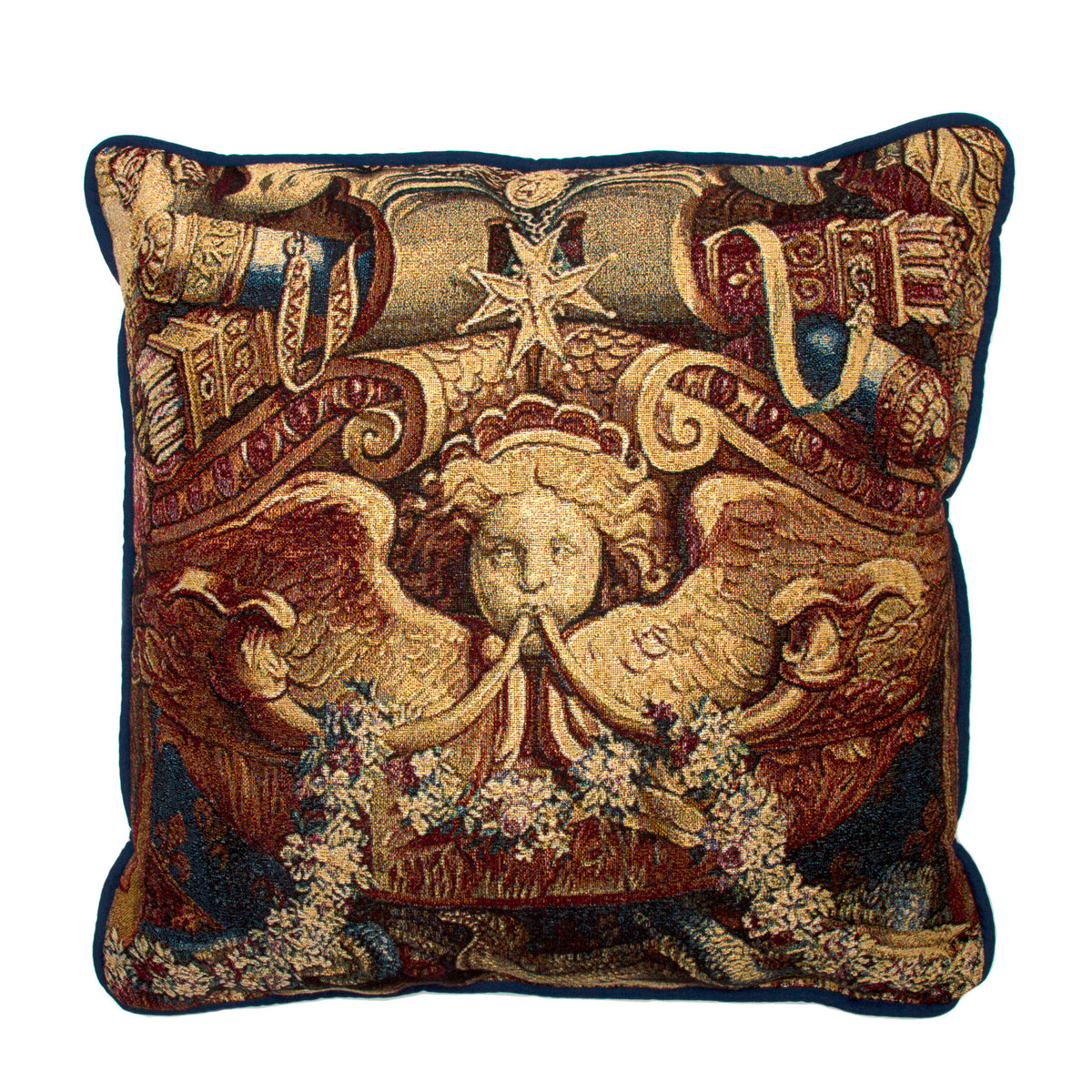 Portiere of the Chariot of Triumph-Tapestry Pillow  | Getty Store