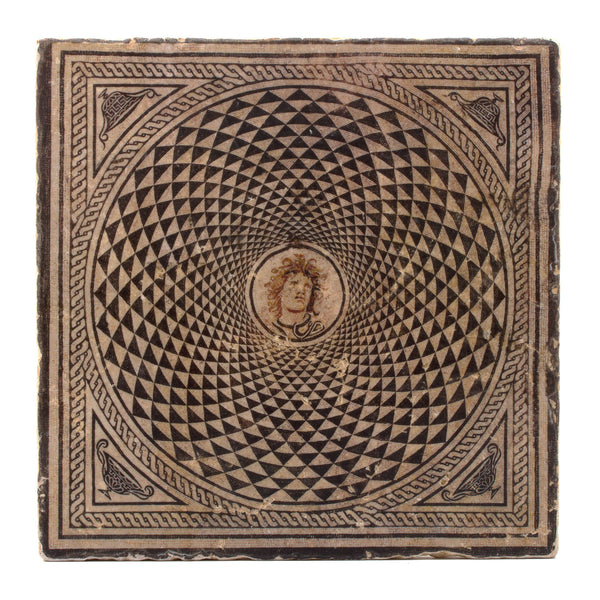 Medusa Mosaic Wall Plaque