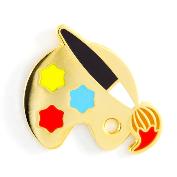Paint Palette Enamel Pin