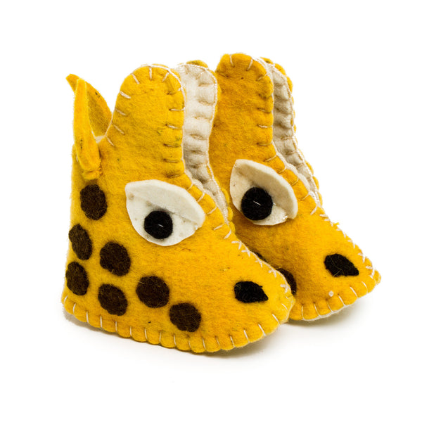 Baby Shoes - Giraffe