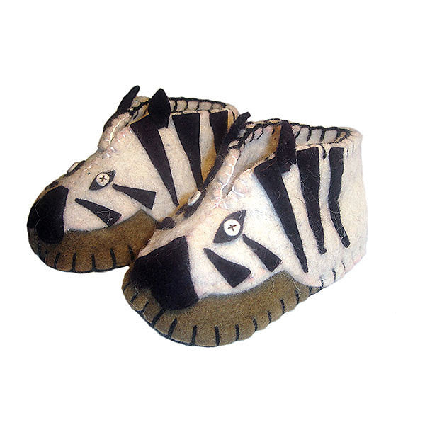 Baby Shoes - Zebra