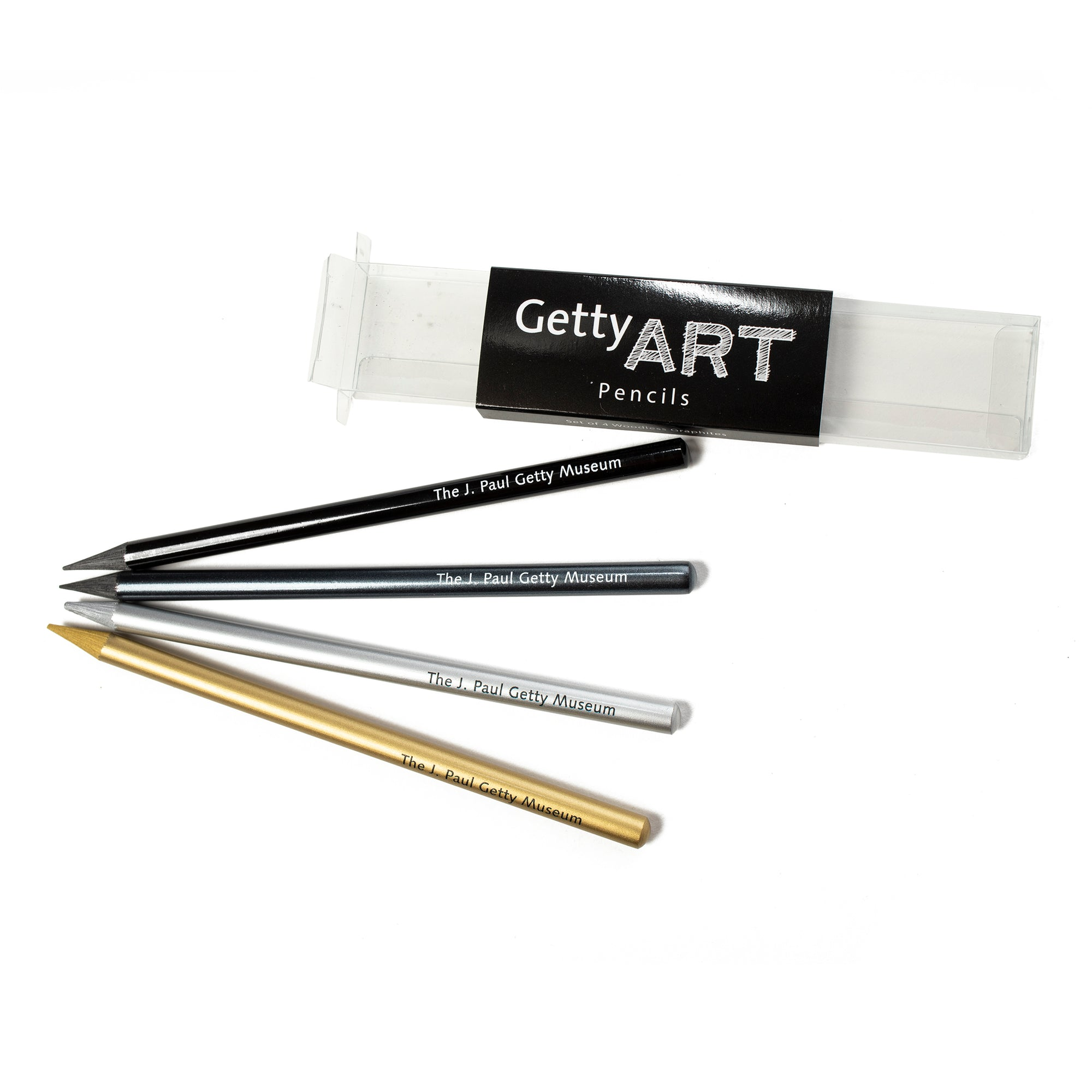Woodless Graphite Pencil Set