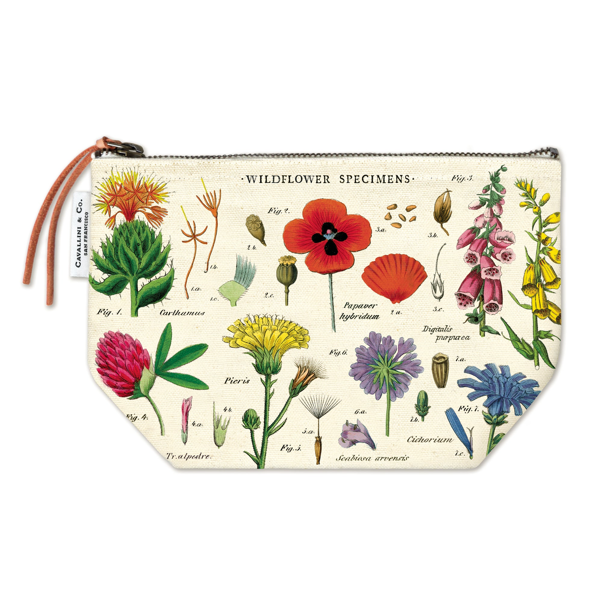 Wildflower Zippered Pouch | Getty Store