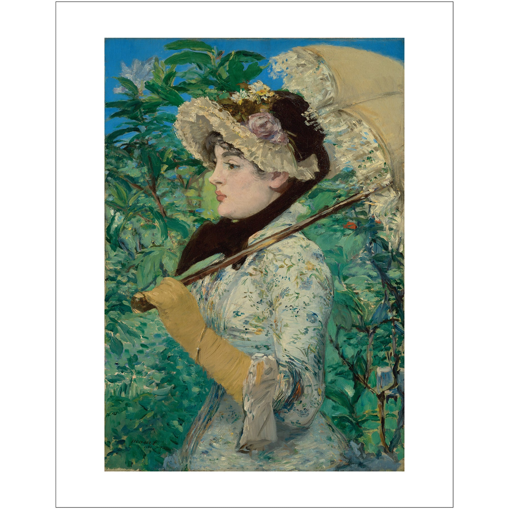 "Manet- Jeanne (Spring) 11""x14"" Print 