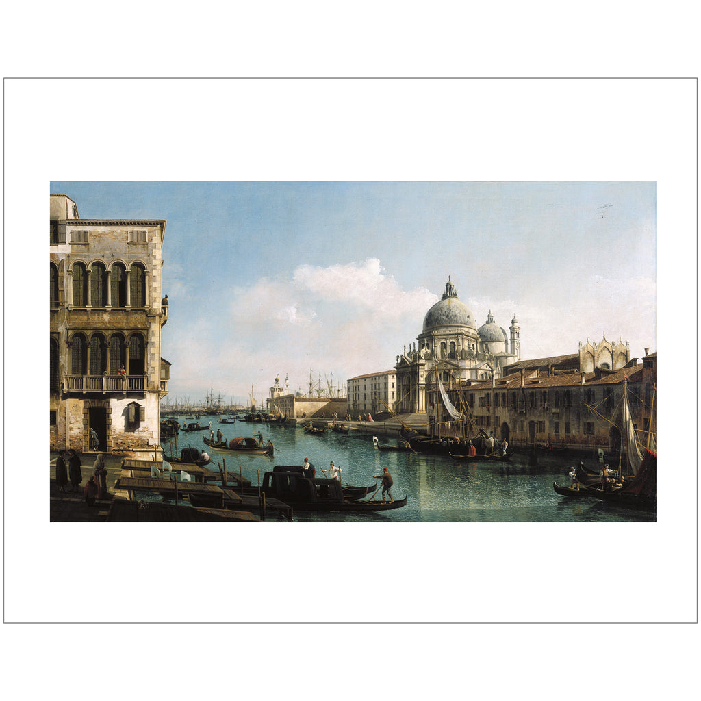 "Bellotto - <i>View of the Grand Canal</i> 11"" x 14"" Print"