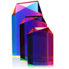 "Vasa Small Parallelogram Cast Acrylic Sculpture (6 1/4"" H)"