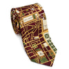 Silk Tie - Paris Map