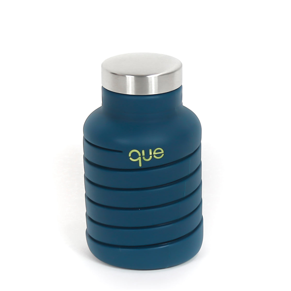 Collapsible Silicon Water Bottle- Midnight Blue | Getty Store