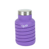 Collapsible Silicon Water Bottle - Violet