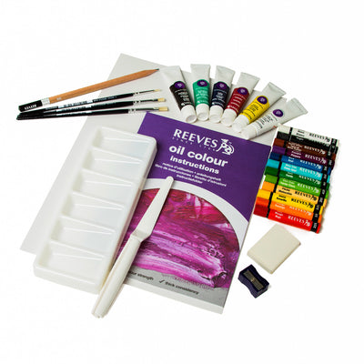 KIT OIL COMPLETE PAINTING SET