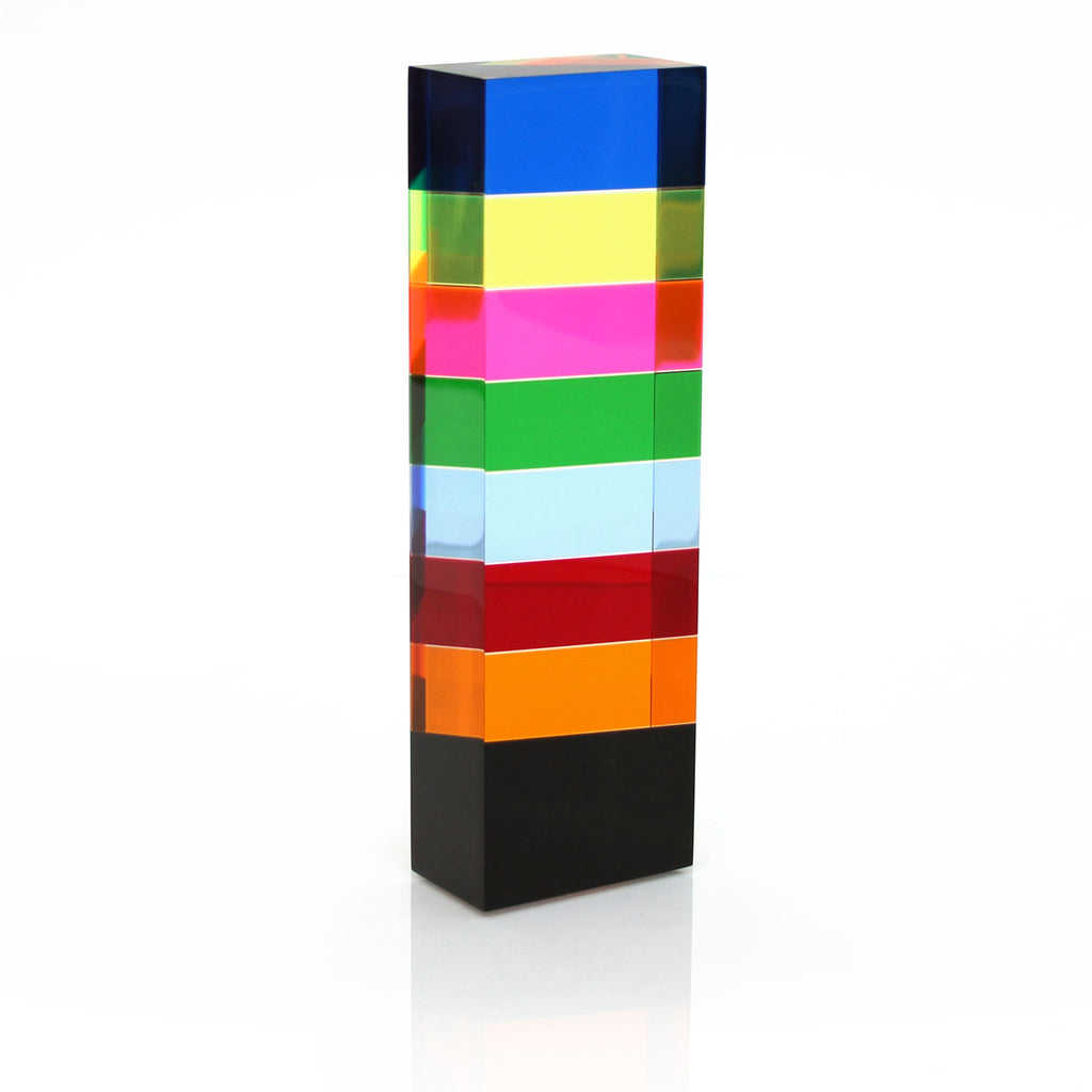 Vasa Rectangular Acrylic Column Sculpture (#8)