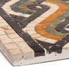Mosaic Border Reproduction-Side view of mosaic construction | Getty Store