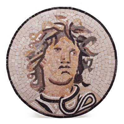 Medusa Mosaic Floor Reproduction
