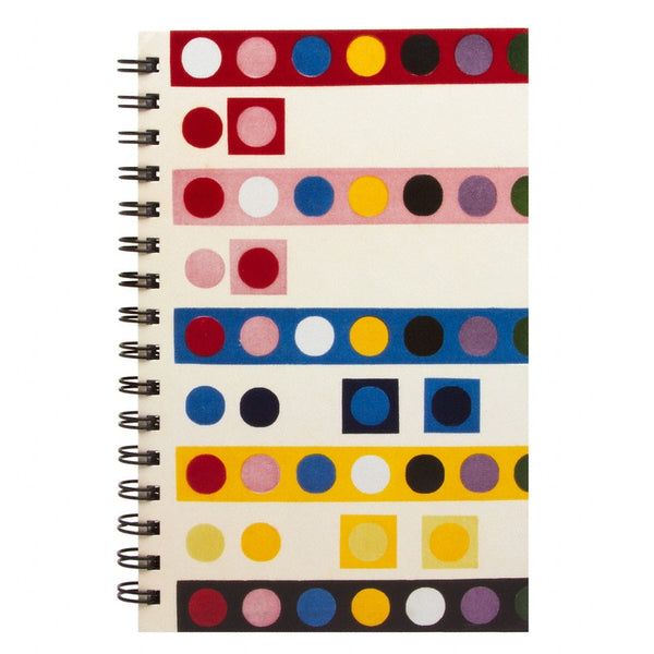 French Dot Pattern Sketchbook