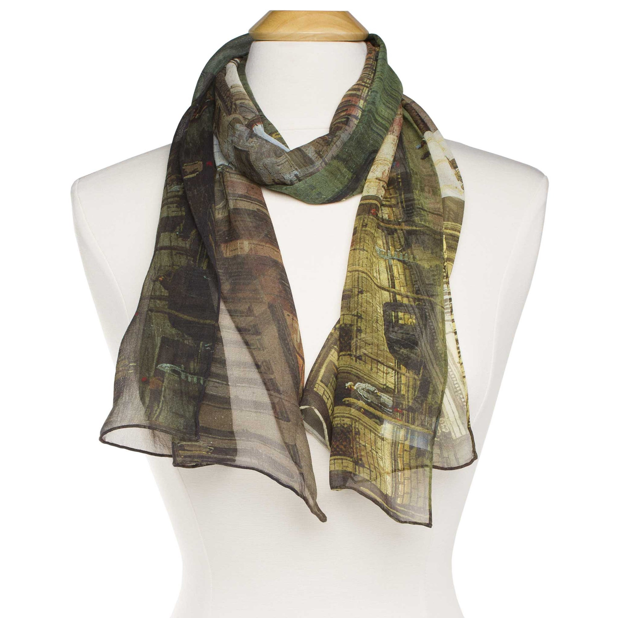 Canaletto-The Grand Canal in Venice-Silk Scarf | Getty Store
