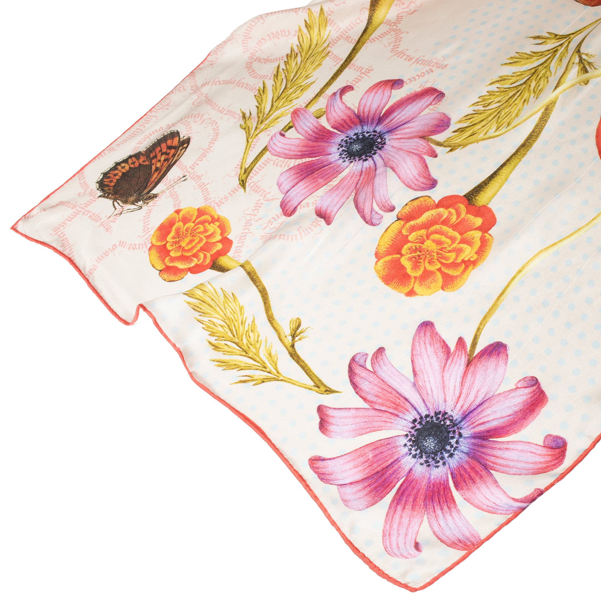 Botanical Illuminations Silk Scarf | Getty Store