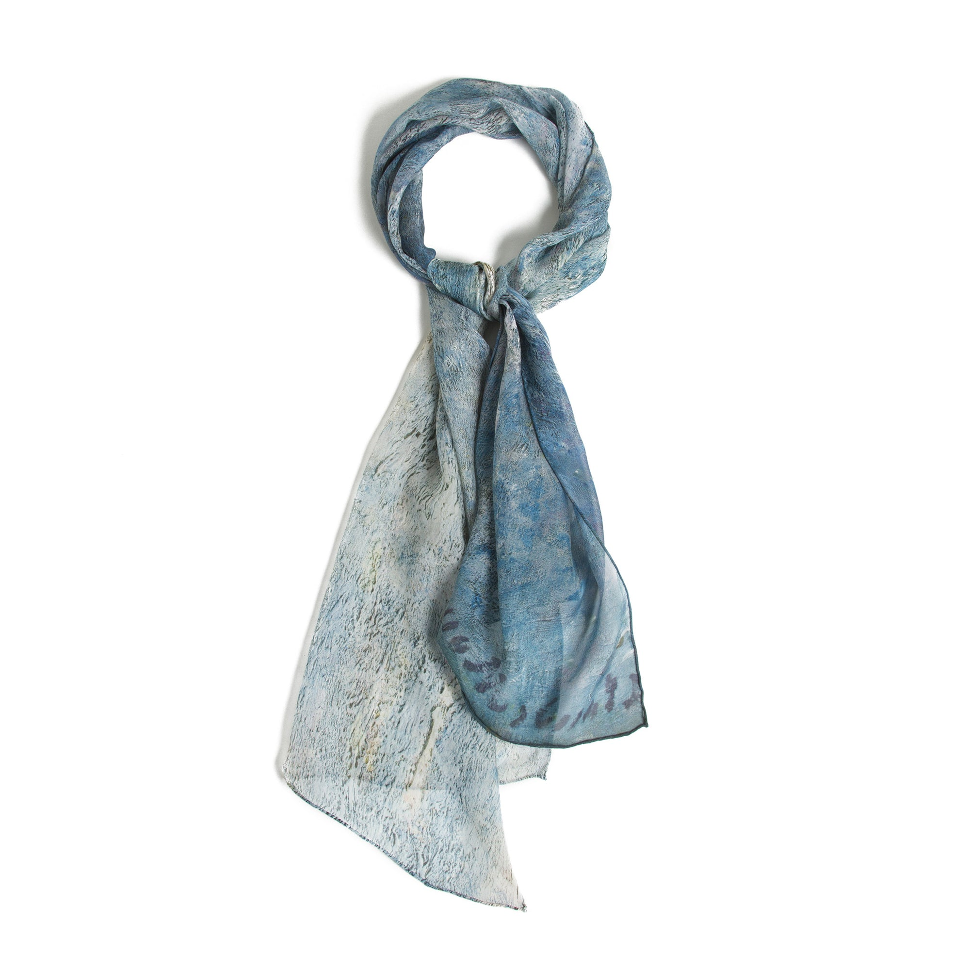 The Portal of Rouen Cathedral in Morning Light Silk Scarf | Getty Store