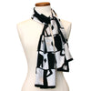 Metzker Silk Scarf- styled on Mannequin | Getty Store