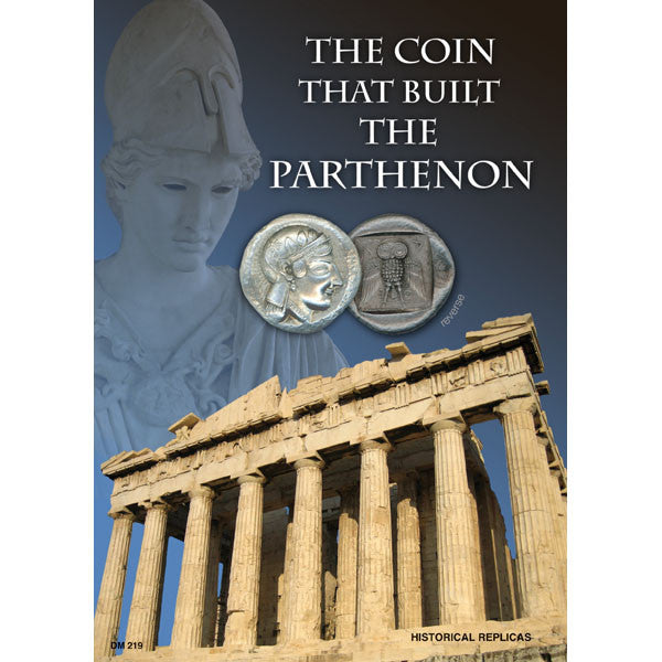 The Coin that built the Parthenon Reproduction Coin Set