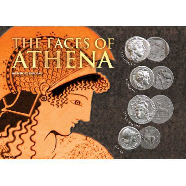 The Faces of Athena Coin Set - Replica