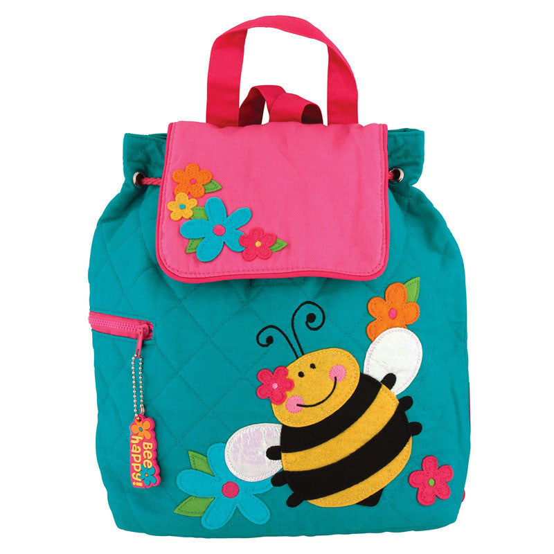 Classic Quilted Backpack - BEE