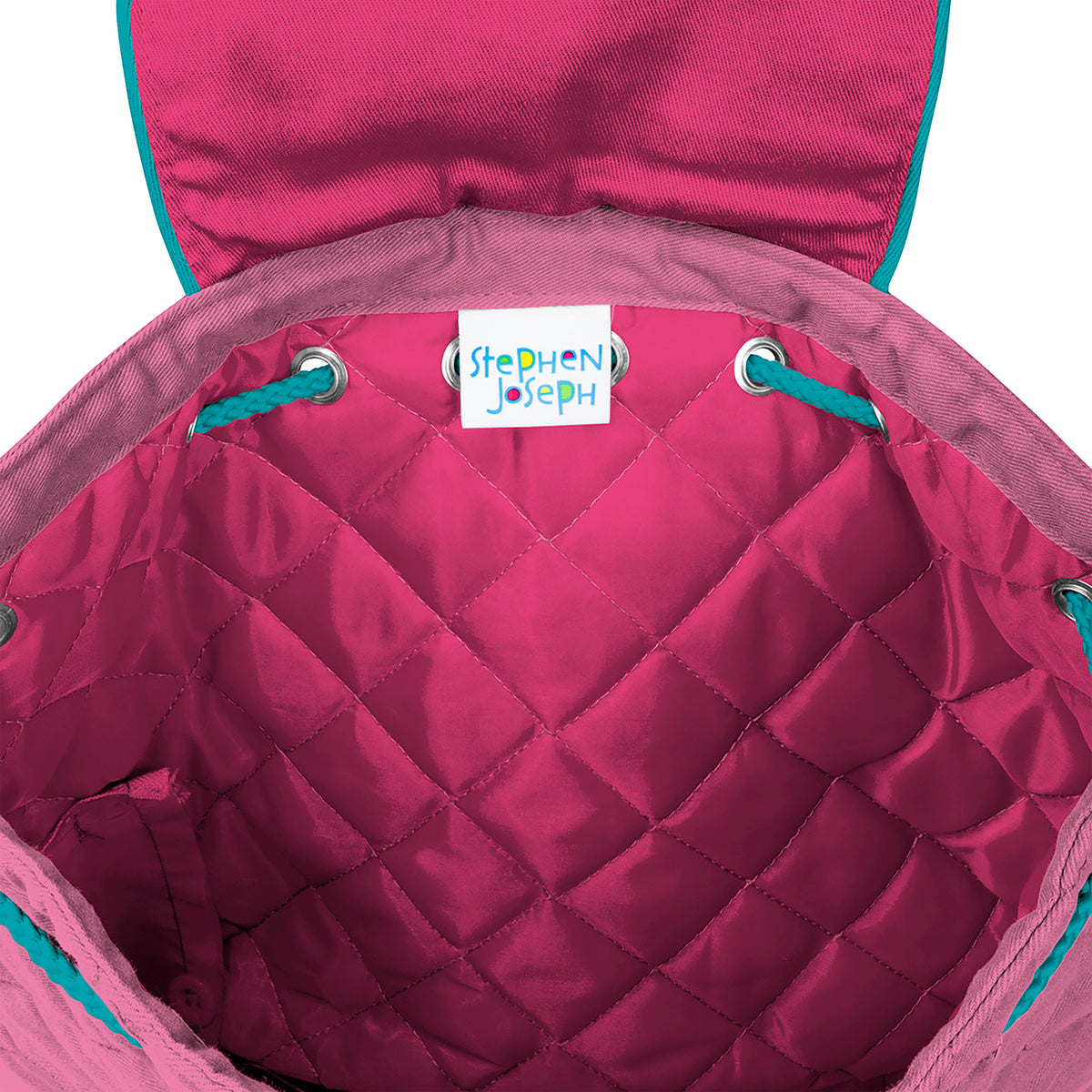 Quilted Backpack - Butterflies