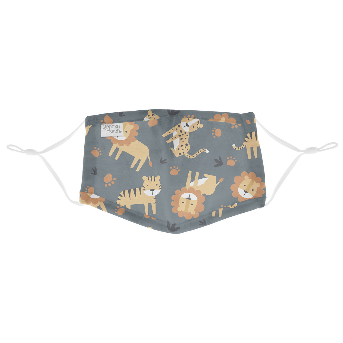 Children's Cotton Face Mask - Big Cats
