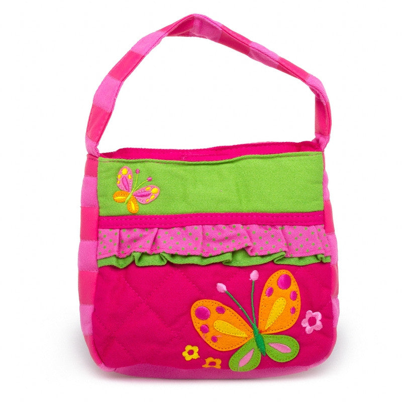 Classic Quilted Purse - BUTTERFLY