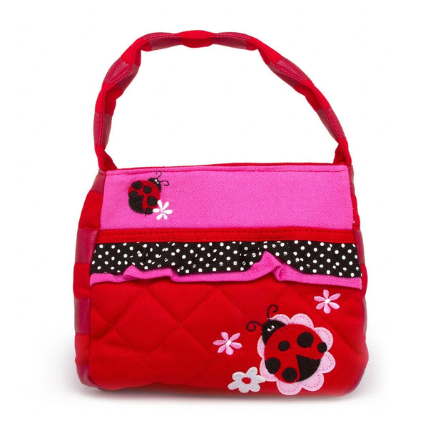 Classic Quilted Purse - LADYBUG