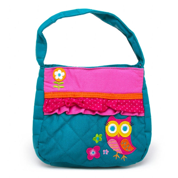Classic Quilted Purse - OWL