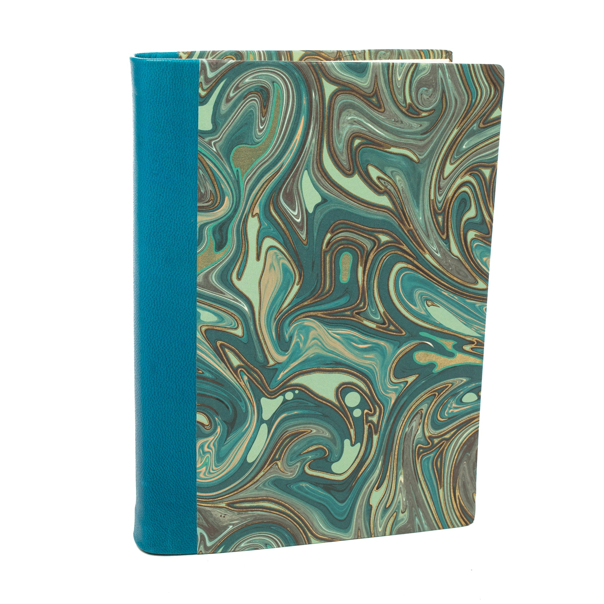Leather Bound Journal with Tuscan Paper- Blue | Getty Store