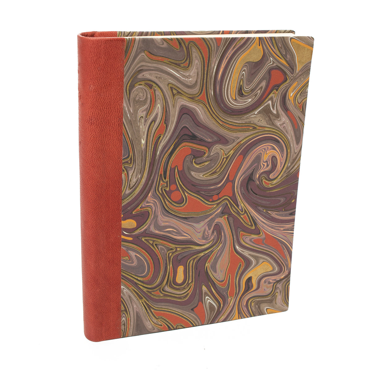 Leather Bound Journal with Tuscan Paper- Red | Getty Store