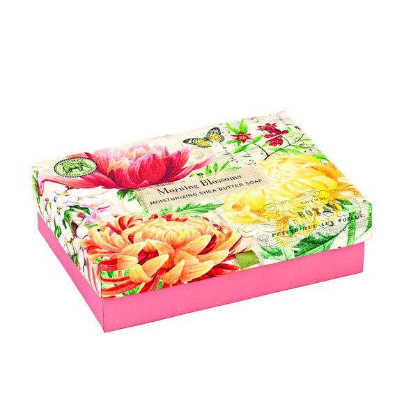 Morning Blossoms Gift Box Soap Set