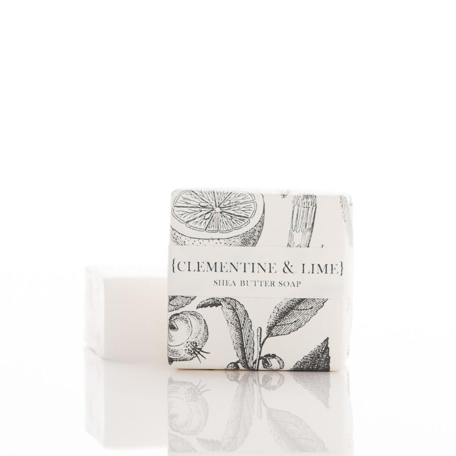 Shea Butter Guest Bar Soap - Clementine & Lime
