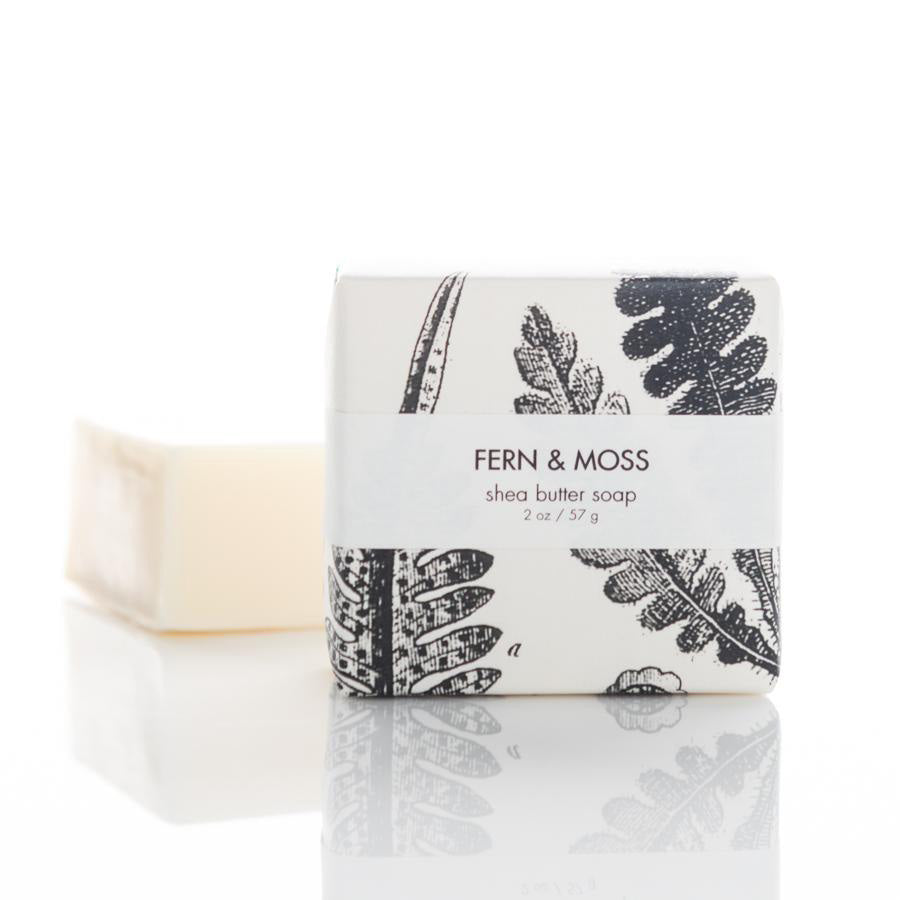 Shea Butter Guest Bar Soap - Fern & Moss