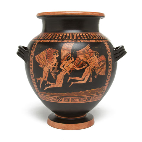 Greek Stamnos Vase - Odysseus & Sirens - Small