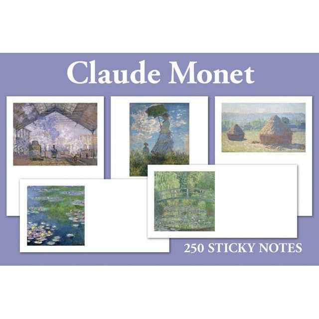 Claude Monet Sticky Notes