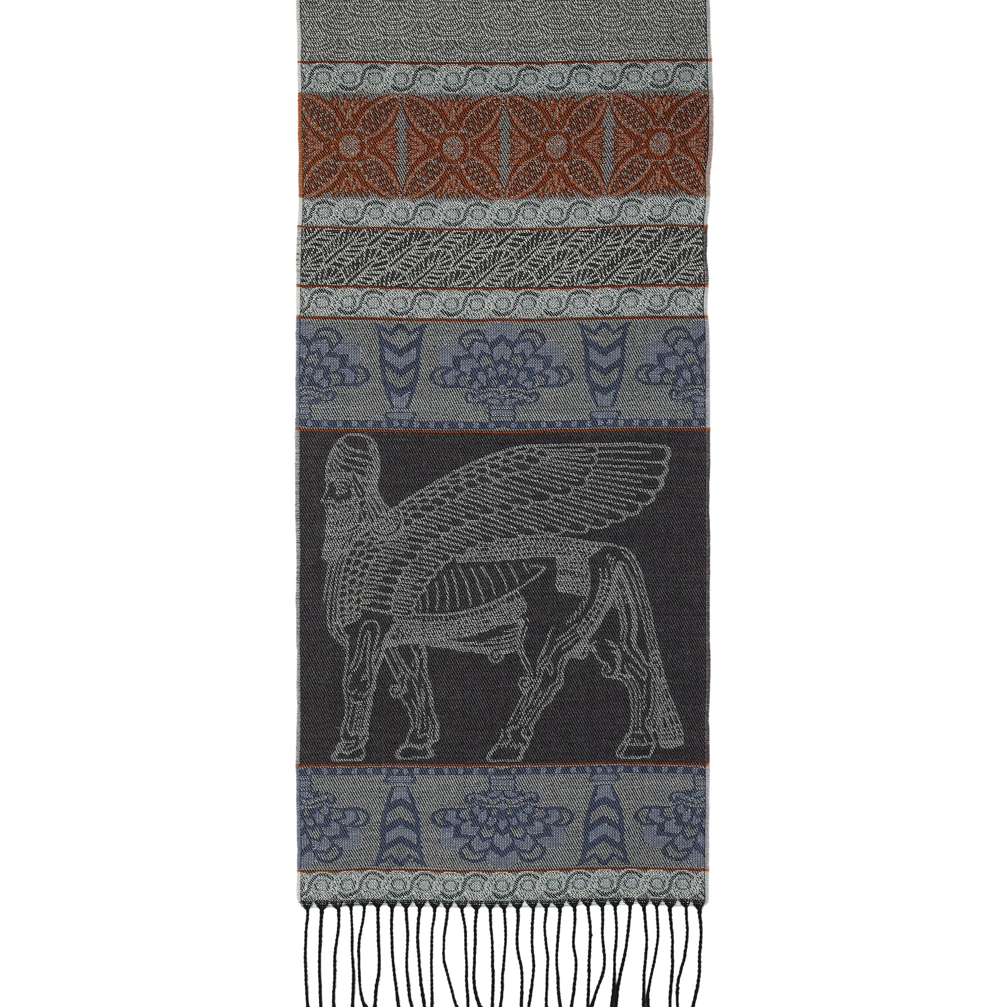 Assyrian Wool Scarf | Getty Store