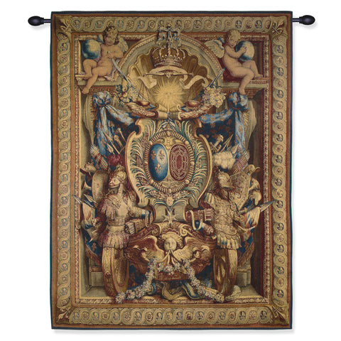 Portiere of the Chariot of Triumph - Tapestry Reproduction