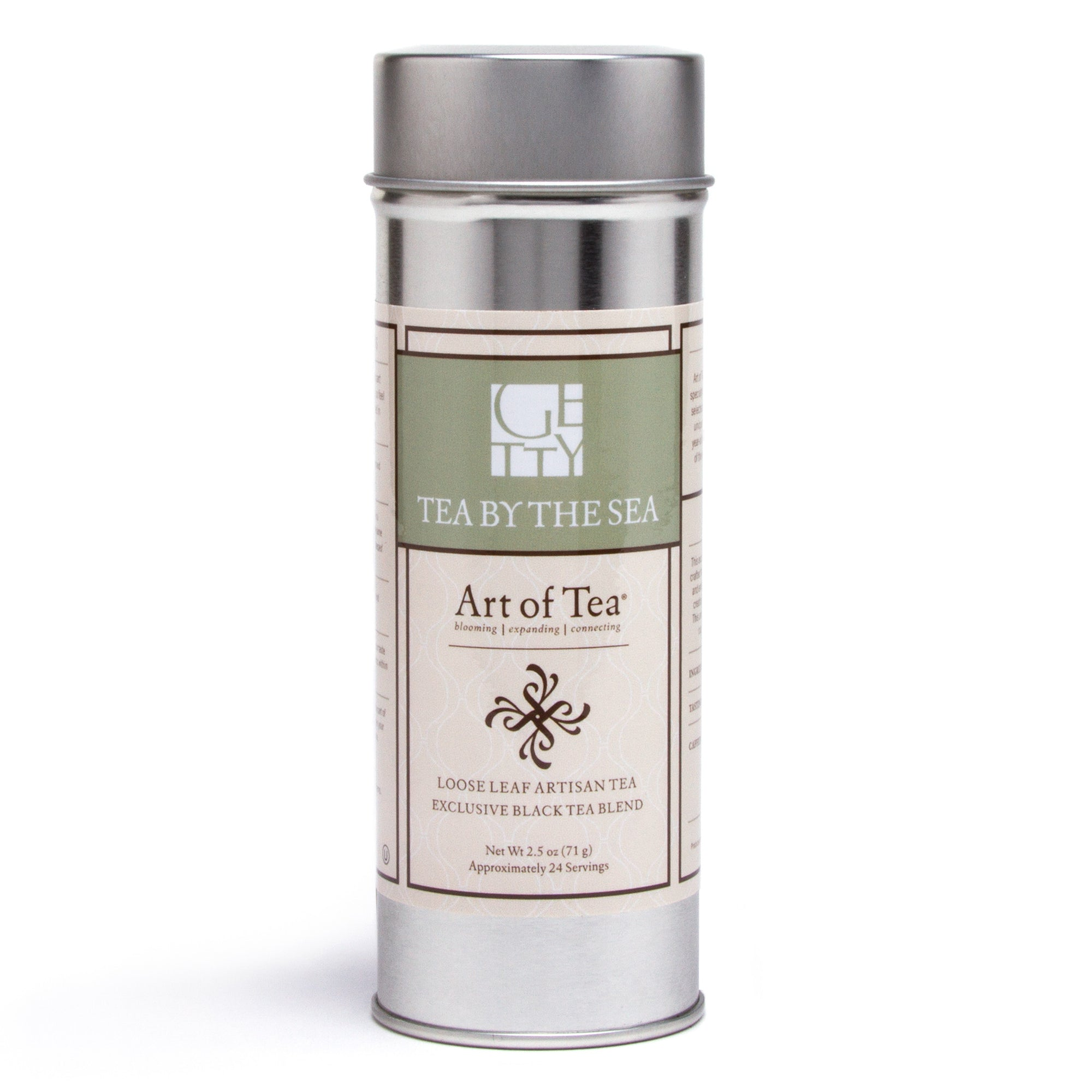 Getty Tea by the Sea Loose Leaf Tin | Getty Store