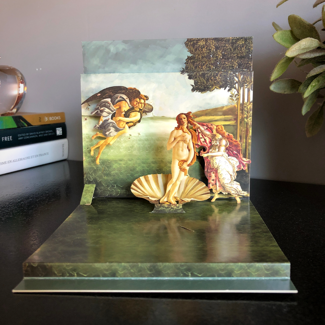 Pop-Up Card - Botticelli's The Birth Of Venus