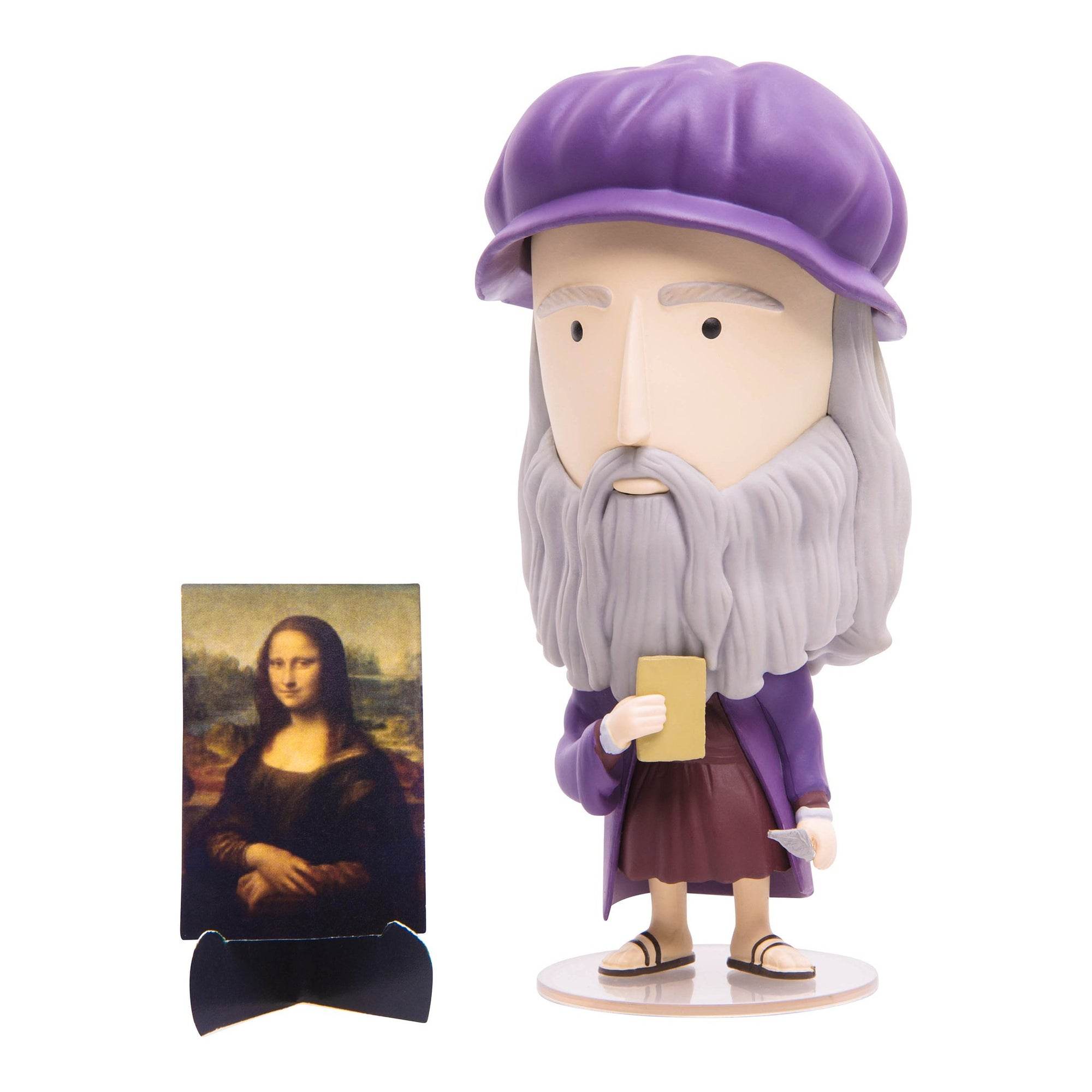 Artist Action Figure -Leonardo da Vinci | Getty Store