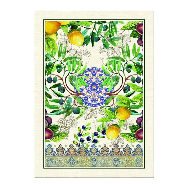 Tuscan Grove Tea Towel