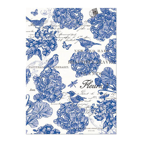 Indigo Cotton Tea Towel