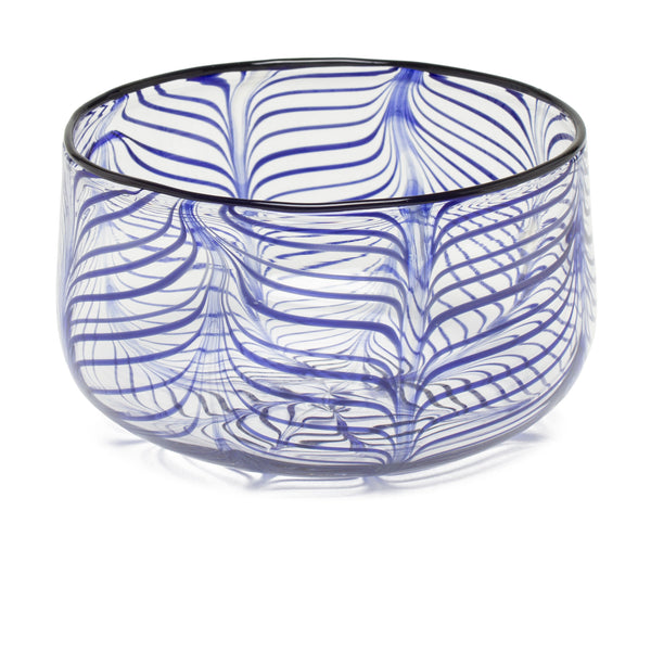 Decorative Bowl by Laurence Brabant Éditions - Medium Blue