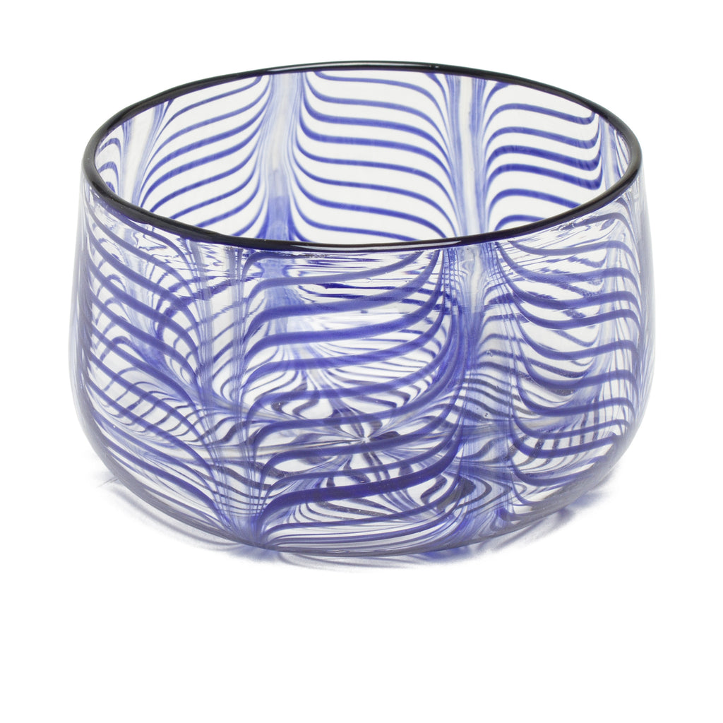 Decorative Bowl by Laurence Brabant Éditions - Small Blue